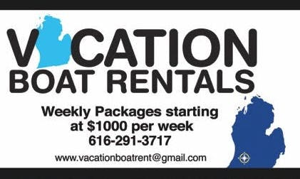 Pontoon rental - We deliver to your dock at area lake in SW Michigan
