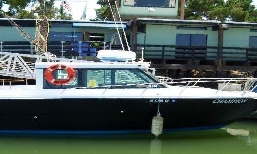 30' Cuddy Cabin Fishing Charter in West Sacramento, California