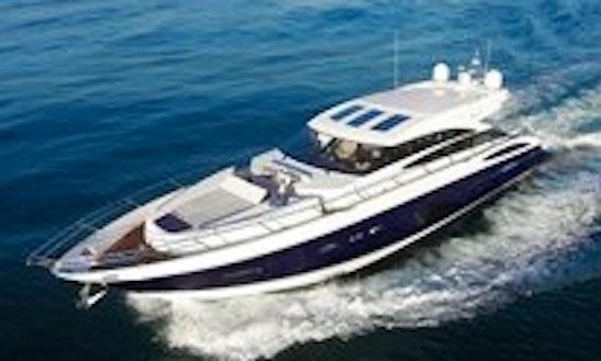 The Princess V72 Express Yacht Breathless