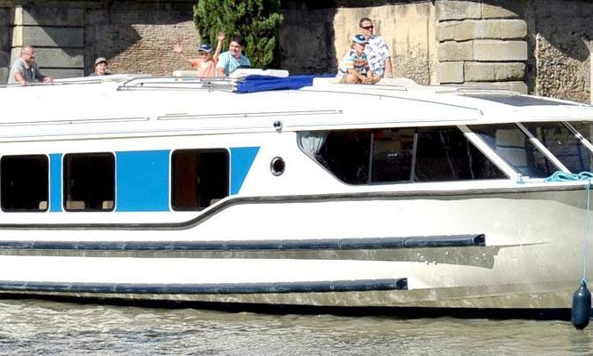 Canal boat Charter in Canal du Midi, France