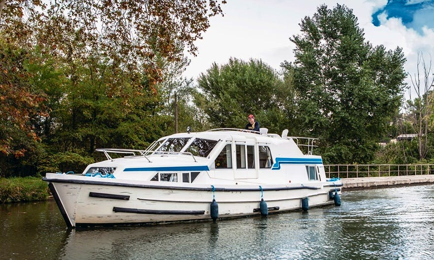 37' Canal Boat for 4 Persons in Alsace-Lorraine, France