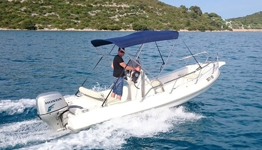 Actor 520 Rigid Inflatable Boat Charter In Tisno, Croatia For 6 People