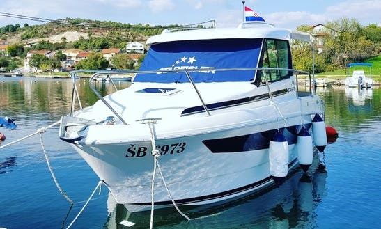Starfisher 650 Obs Cuddy Cabin Charter In Tisno, Croatia For 6 People