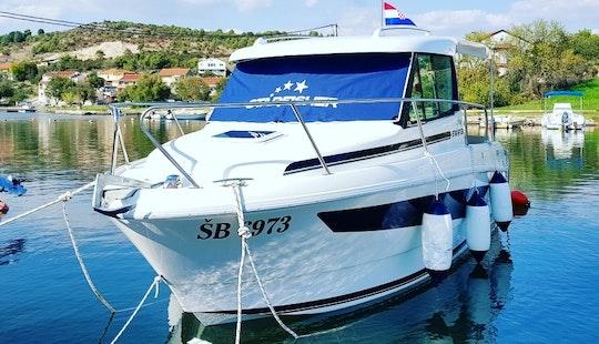 Starfisher 650 Obs Cuddy Cabin Charter In Tisno, Croatia For 6 People