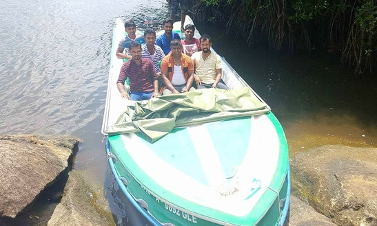 Charter This 12 Persons Dinghy In Balapitiya, Sri Lanka