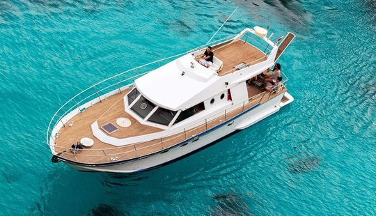 43' Mv Inge Lll Motor Yacht Charter In Il-mellieħa, Malta
