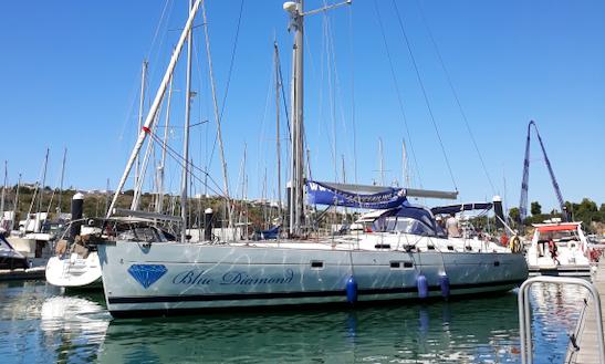 Blue Diamond 53' Beneteau Oceanis Cruising Monohull Charter In Albufeira, Portugal