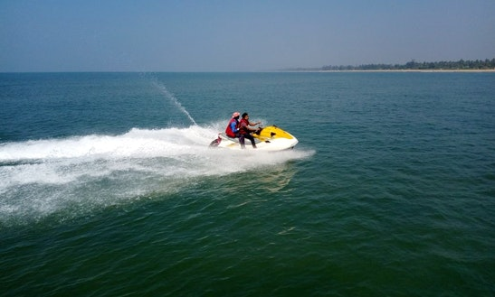 Hit The Water In Gokarna, Karnataka On Jet Ski