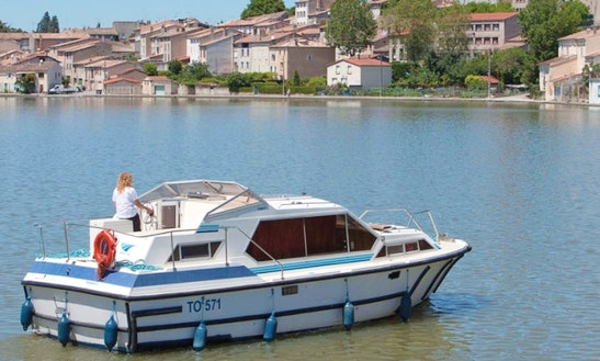 Amazing Boat Cruise On The Canal Du Midi, France
