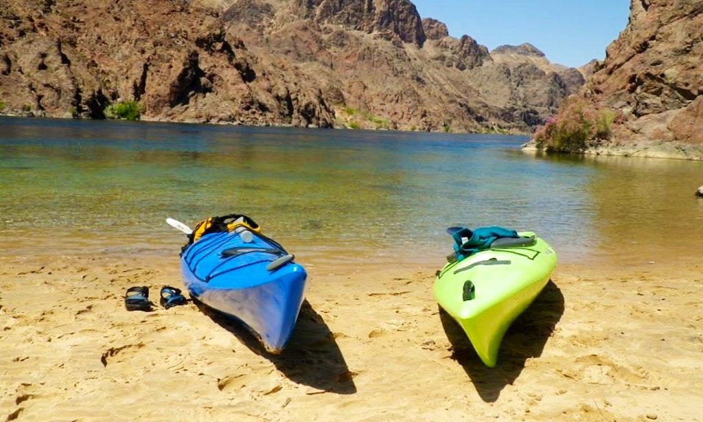 Kayak on Lake Mead