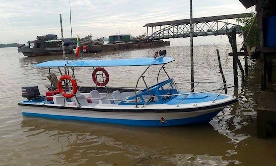 Discover The Beautiful Coasts Of Yangon, Myanmar On 6 People Dinghy