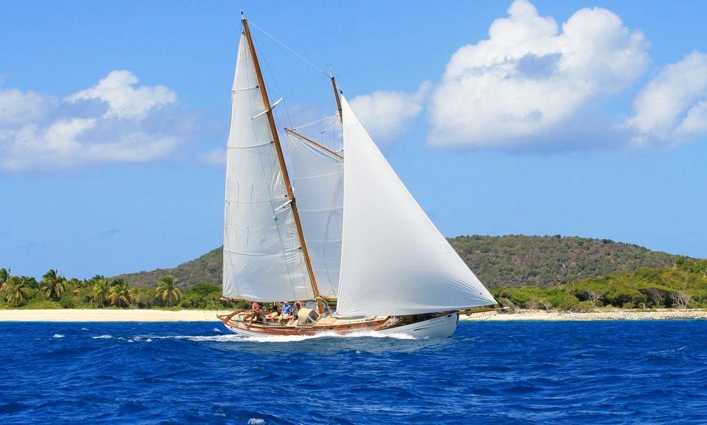Schooner Heron Boat Used in Rum Diary