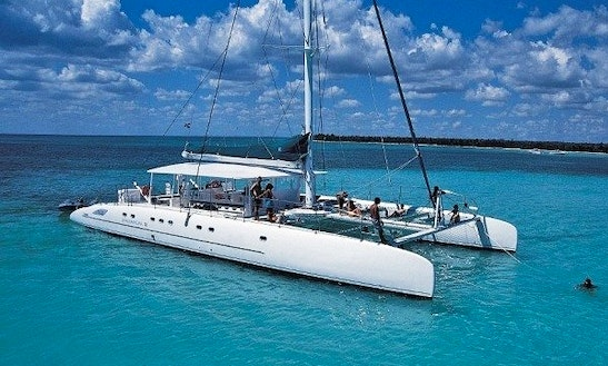 Go Sailing With This 69' Taino Dc 65 Sailing Charter In Vallauris, France