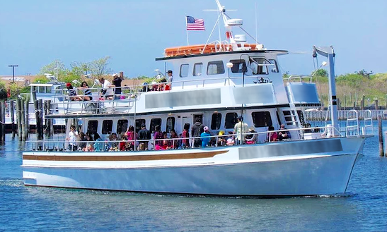 Private Boat Charter In Babylon, New York For 100 Passengers