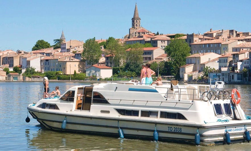 48' Canal Boat with 5 Cabins Ready to Book in Canal du Midi, France