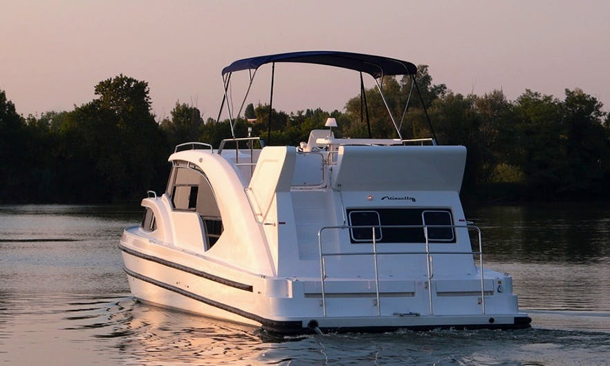 44' Canal Boat rental in Castelnaudary