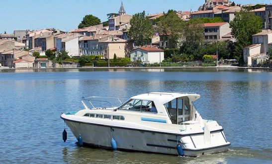 Boating Vacation For 7 Nights Aboard The 30' Canal Boat In Brittany, France