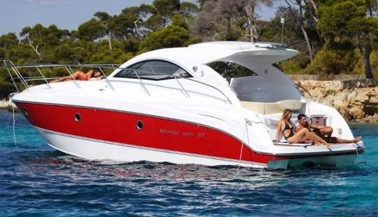Hit The Water In Vallauris, France On Beneteau Monte Carlo 32 Motor Yacht