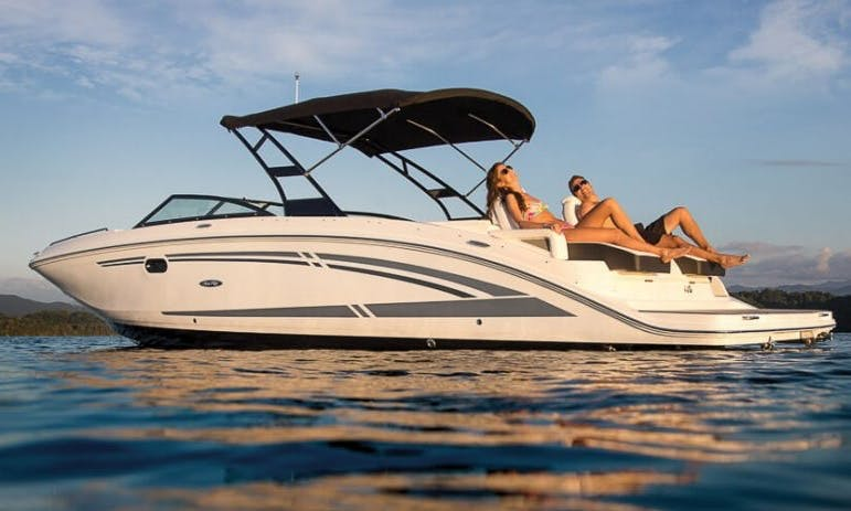 Amazing Boating Experience In Golfe-Juan, France On Sea Ray SDX 290 Deck Boat