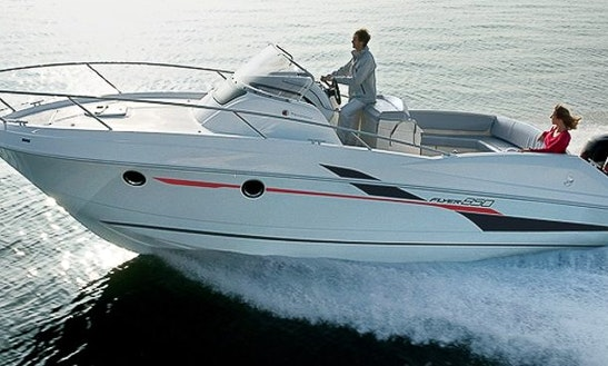 Hit The Water Of Vallauris, France With Beneteau Flyer 750 Sundeck Center Console