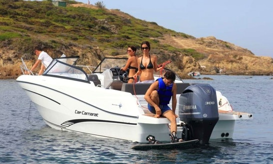 Cap Camarat 7.5 Bowrider Charter In Vallauris, France For 8 Person