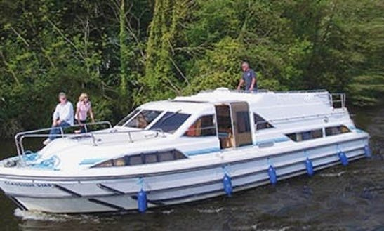 Rent A Spacious 42' Canal Boat In Mecklenburg, Germany