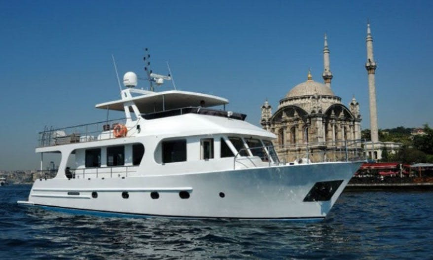 Rent this Yacht in İstanbul for up to 20 guests for an amazing cruise