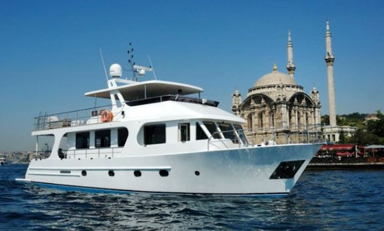 Power Mega Yacht Rental In İstanbul