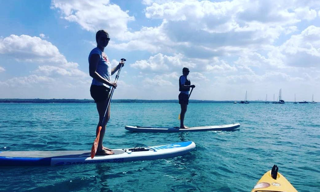 An amazing paddleboarding experience in Zanzibar, Tanzania