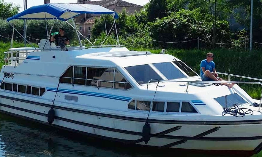 Relax in a 39' Canal Boat in Havel, Germany (Rent with Boating Licence )