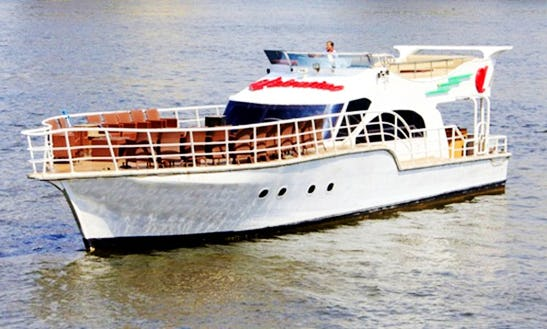 Party Boat Cruises In Egypt On 30 Person Spacious Motor Yacht