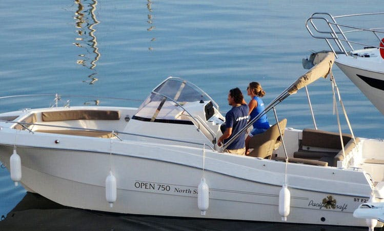 Pacific Craft Open 750 Cuddy Cabin Yacht in Agde, France