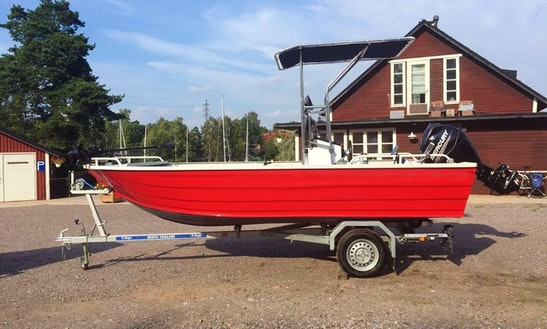 Enjoy Fishing In Helsinki, Finland For 6 People On Center Console
