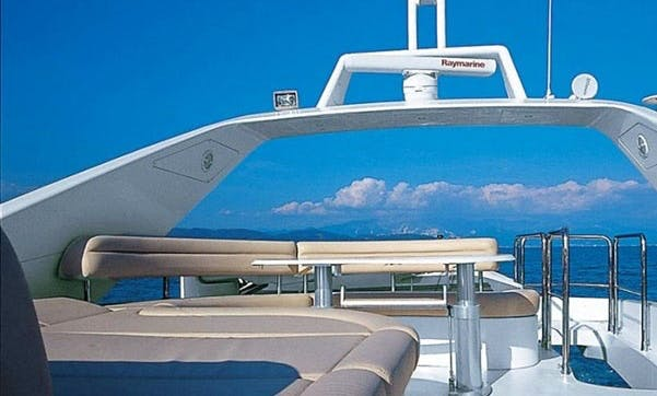 An Innovative Azumit 75 Power Mega Yacht Charter in Athens, Greece