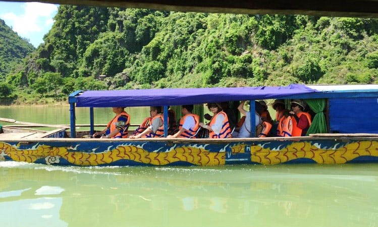 River Cruises for 10 Person in Vietnam aboard a Traditional Boat