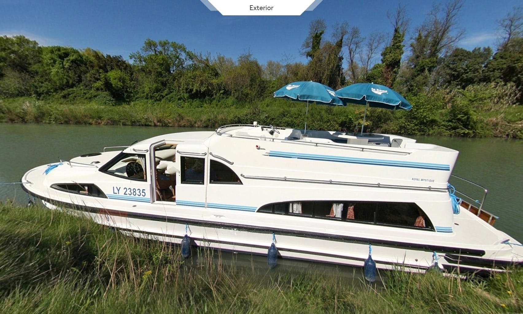 Travel Over Carrick On Shannon, Ireland With a 43' Canon Boat Up To 6 Persons