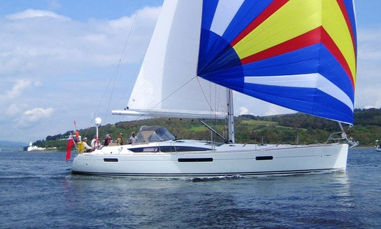 8 Person Sailing Yacht For Charter To Cruise The Scotland Coast