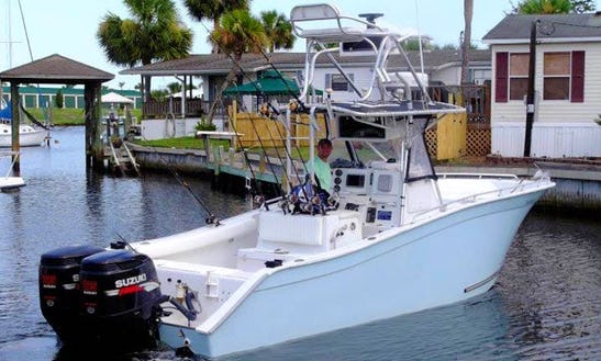 Fishing Trip For 3 Person In Panama City On 28ft Center Console With Captain Mickey