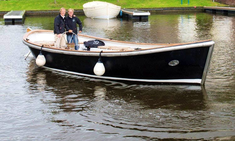 Original Spanish Lifeboat with Sound System for Rent in Leiden, Netherlands