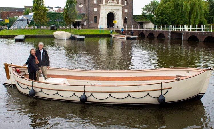 Hire a Private Polyester Lifeboat Tour for 24 Person in Leiden