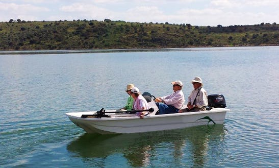 Enjoy Fishing With Friends And Family On This 4 Persons Jon Boat In Alangel, Spain