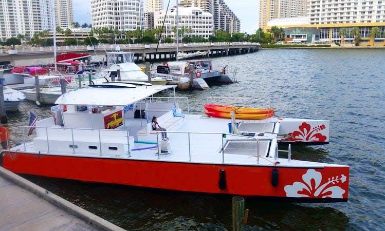 50' Power Catamaran Charter in West Palm Beach, Florida