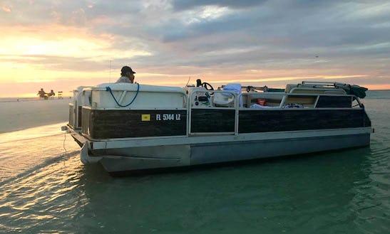 Rent 18' Sunchaser G3 Pontoon In Tampa, Florida