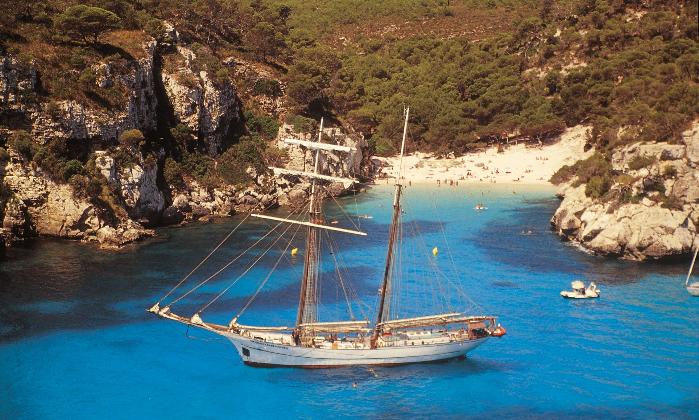 Sailing and diving in the Western Mediterranean Sea at the Sir Robert Baden Powell