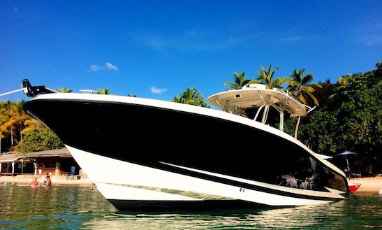34ft Hydra Sport Bowrider Boat Charter In Township, Michigan