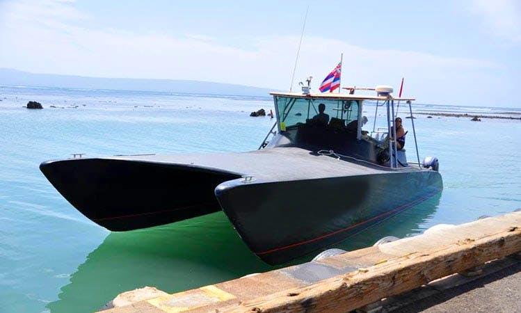 "Enjoy 40 ft ""Manu Ele'ele"" Custom Built Catamaran in Kaunakakai, Hawaii"