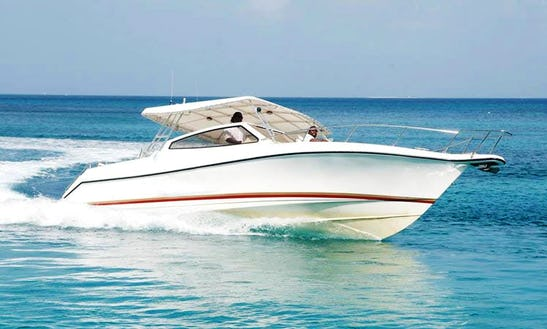34' Custom Boat In Sandy Ground