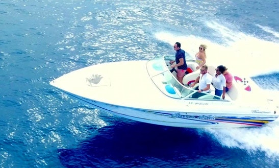 Reach The Most Beautiful Spots Of Curaçao On This Powerboat!