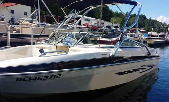 20' Glastron Bowrider Rental In Blind Bay