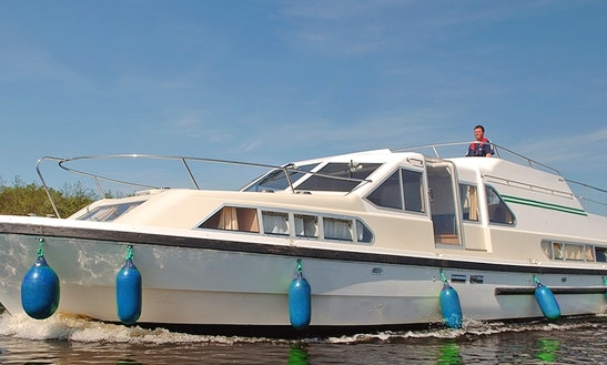 Rent A Comfortable 42' Canal Boat In Portumna, Ireland For Up To 8 People